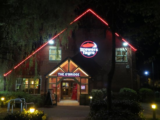 Brewers Fayre O'Bridge: View of entrance