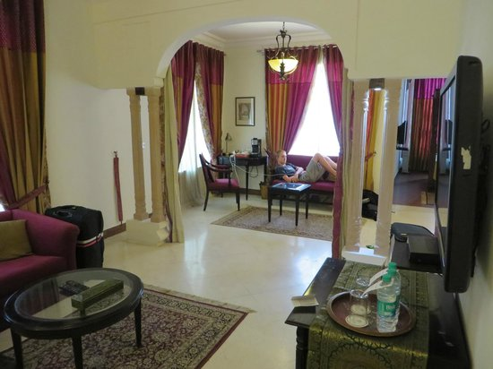 Ranbanka Palace : Our room