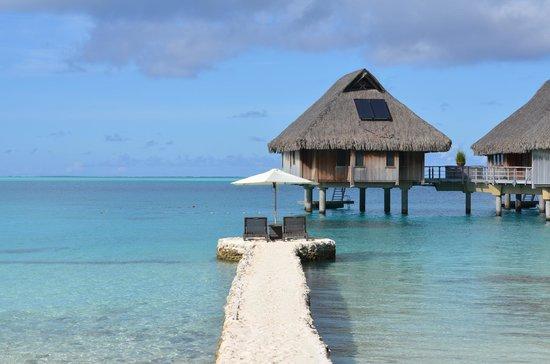 Conrad Bora Bora Nui : view from the beach