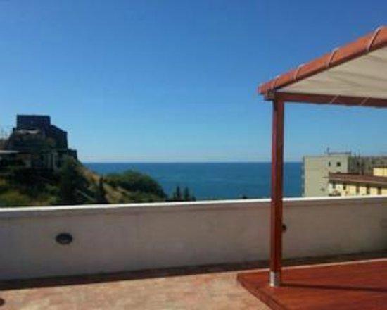 Torre Cielo e Mare Bed & Breakfast: Panorama terrazzo