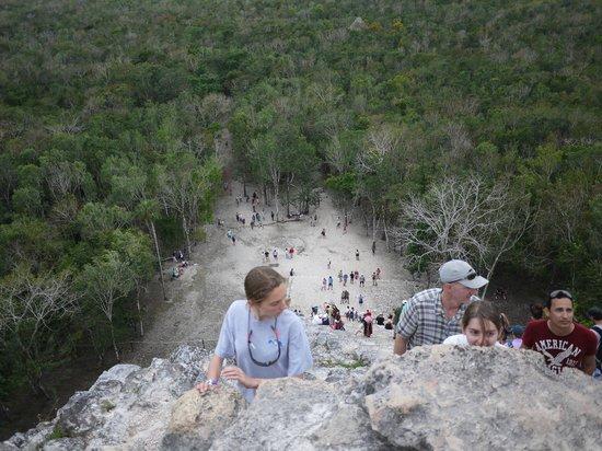 Ruinas de Coba: Вид сверху