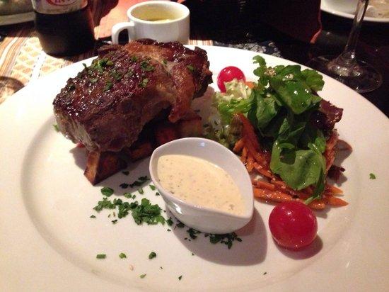 Restaurante Tandory: 500pesos por um mísero pedaço de carne !!!