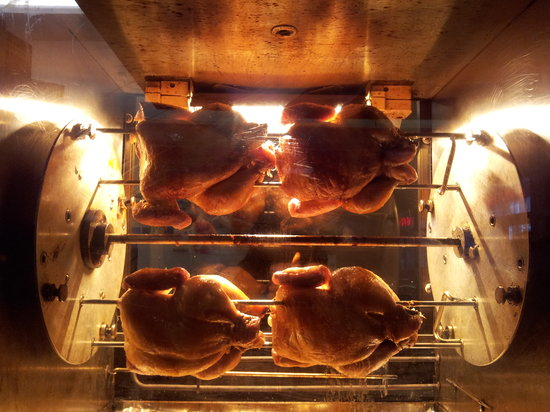 CJ's Cafe Bistro: our very own rottisserie