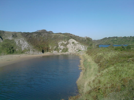 Rosehill Farm Bed and Breakfast: One of the popular walks around Stackpole Estate lakes, with Lily ponds, and walk to a beach