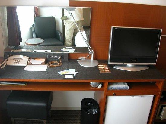 Hotel MyStays Fukuoka Tenjin Minami: キッチン付シングル、デスク