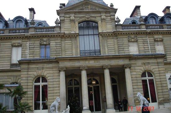 Musée Jacquemart-André : L'entrée du musée