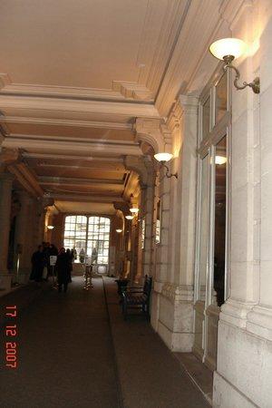 Musée Jacquemart-André : Le couloir d'accueil