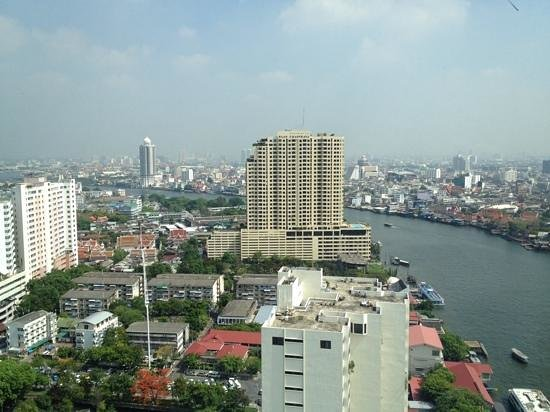 Millennium Hilton Bangkok: view from the room