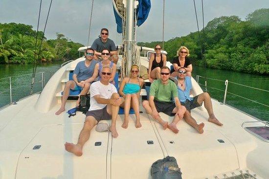 Villa Verano: On our snorkling trip!  Great trip
