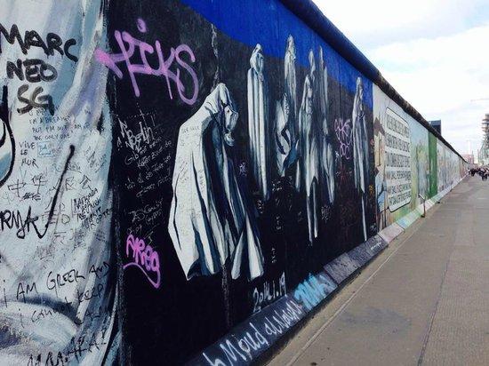 Gedenkstätte Berliner Mauer: muro di Berlino