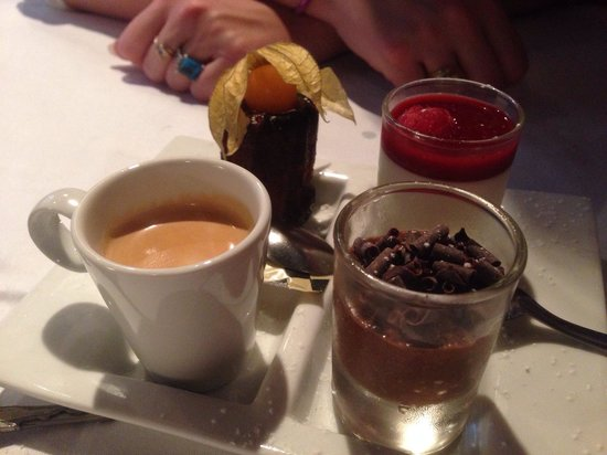 La tete de Boeuf : Cafe gourmand ( pas mal)