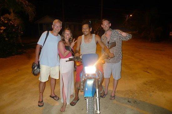 Villa Verano: Look who we ran into in the Village!  Gerardo!