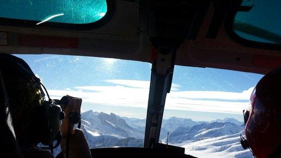 BOHAG Helikopterrundflug: View from helicopter