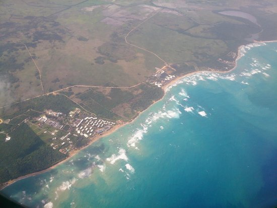Vista Sol Punta Cana : Подлетаем к Пунта Кане