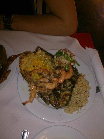 Vista Sol Punta Cana: Новогодний ужин