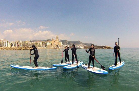 Sitges Sup Barcelona Paddle Surf