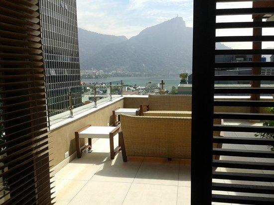 Mar Ipanema Hotel: top terrace for sunbathing