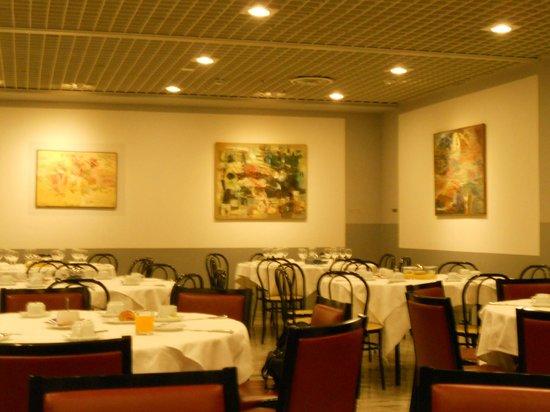 Albornoz Palace Hotel : sala colazione