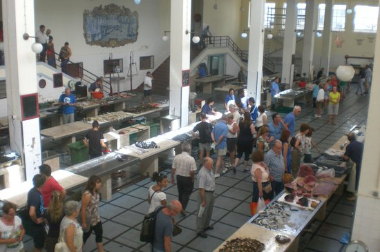 Madeira Story Centre: halle aus poissons place du marché