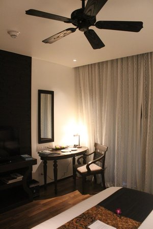 Anantara Bophut Koh Samui Resort : Behind the curtain is stunning.