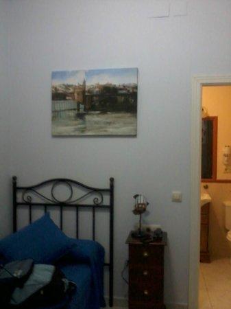 Espacio Azahar: Habitación y baño
