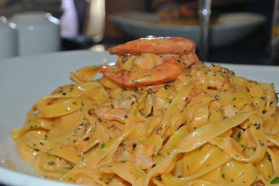 Tartarun Fish Restaurant: Tagliatelle Fresh prawns