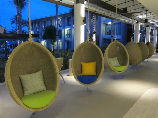 OZO Chaweng Samui : Lovely chairs