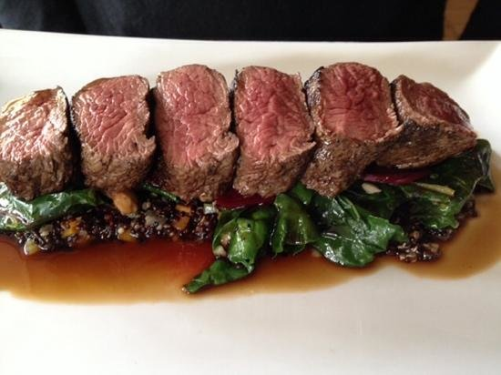 Mercato @ Daylesford: Kangaroo fillet - a riot of colour and flavours