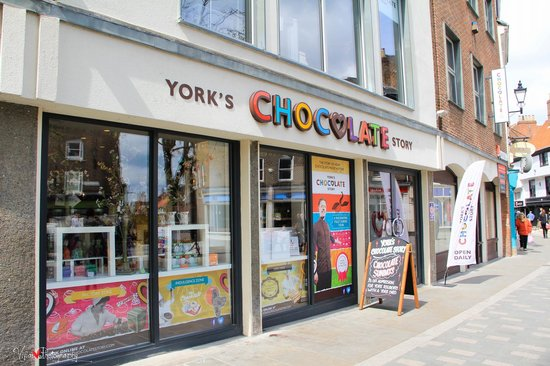 York's Chocolate Story: The shop