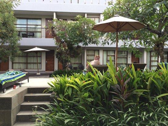 Amadea Resort & Villas : Pool just right outside the room!