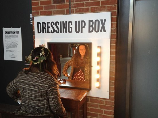 The Royal Shakespeare Theatre: dress up