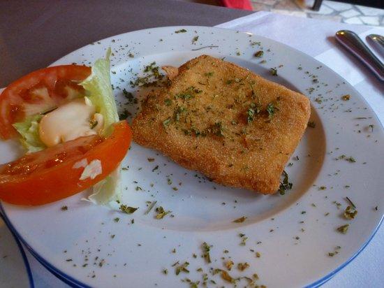 Konoba Toni : フライドチーズ