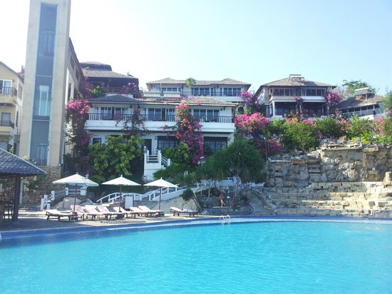 Rock Water Bay Beach Resort & Spa: view from the pool