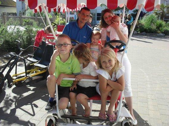 Butlins Skegness Resort: What I call the Chuckle brother bike lol (but BIGGER)