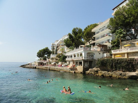 Illetes, España: Europe Playa Marina, Бухта