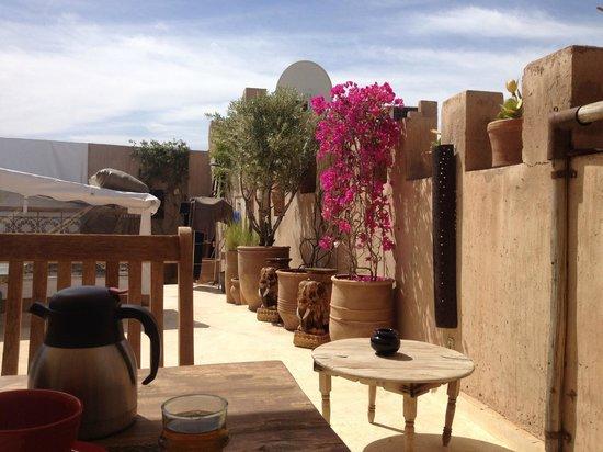 Riad Dar Massai: Roof Terrace