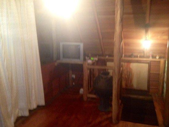 The Log Nuwara Eliya : TV Room