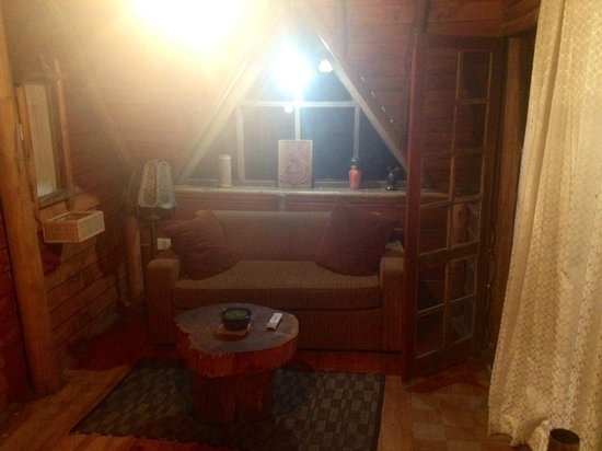 The Log Nuwara Eliya : Living Area