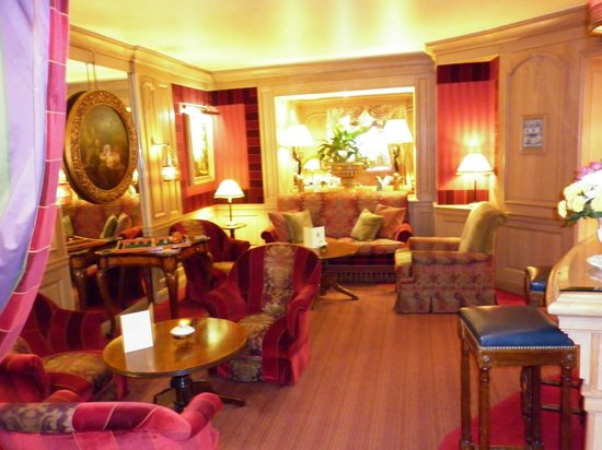 Chambiges Elysees Hotel : Lounge
