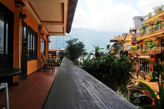 Boutique Sapa Hotel: View from Superior Room