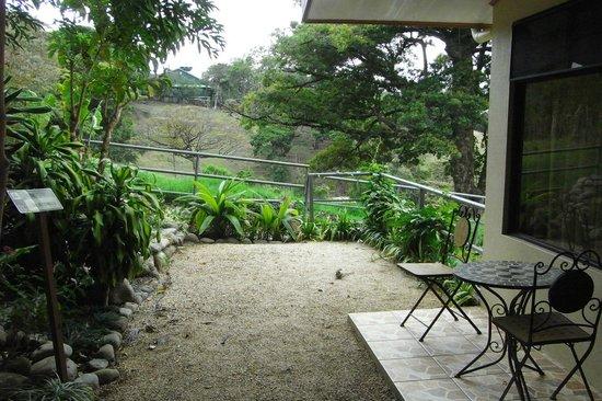 Hotel & Spa Poco a Poco: terraza de la habitación