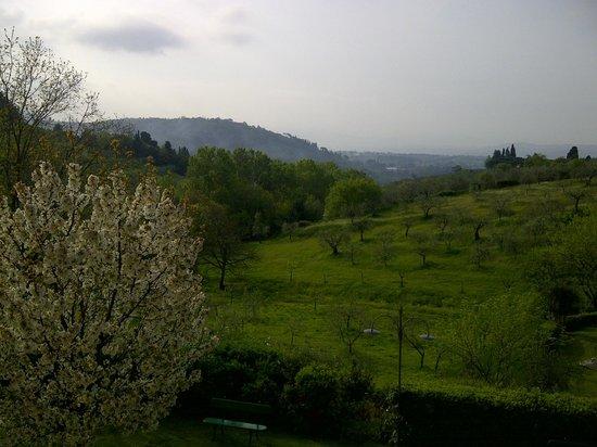 Podere la Valle: Magnificas vistas al despertar
