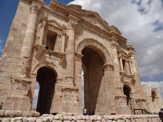 Ruinen von Gerasa: Входные ворота