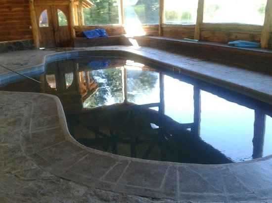 Peumayen Lodge & Termas: Piscina techada