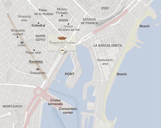 Hotel Duquesa de Cardona: Hotel with a perfect location in Barcelona