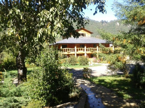 Peumayen Lodge & Termas: Piscina
