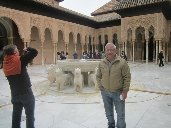 The Alhambra: the fountain