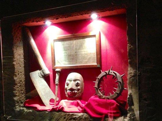 Museo della Tortura: Attrezzi del boia.....