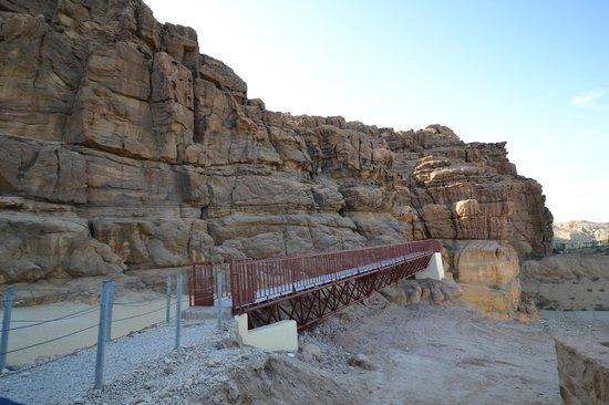 Wadi al-Mujib: The bridge to the Siq