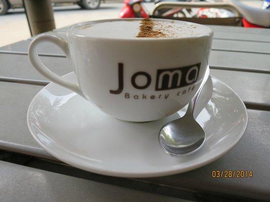 Joma Bakery Cafe: Cappuccino